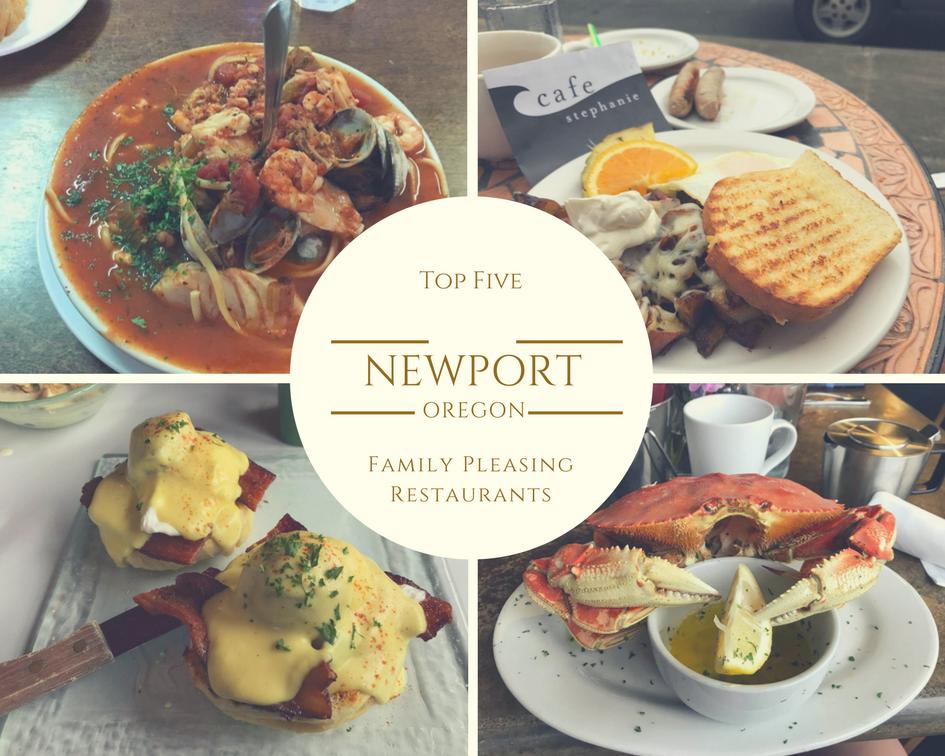 Top Five Newport, Oregon Family-Pleasing Restaurants