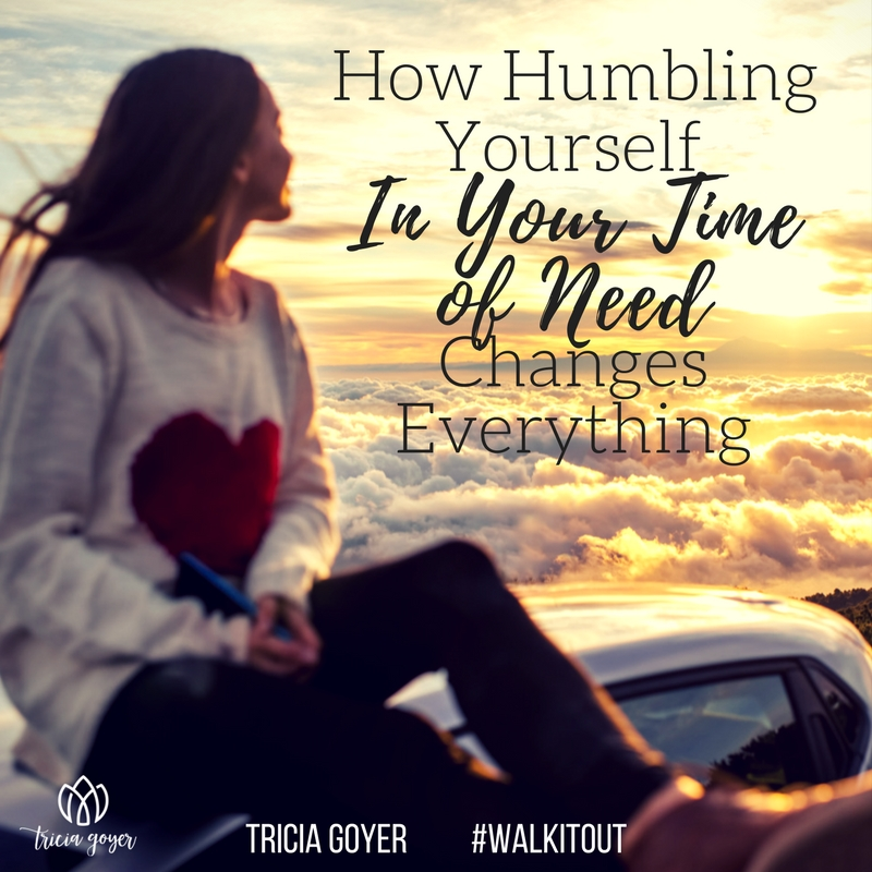Guest post by Tricia Goyer: How Humbling Yourself Changes Everything