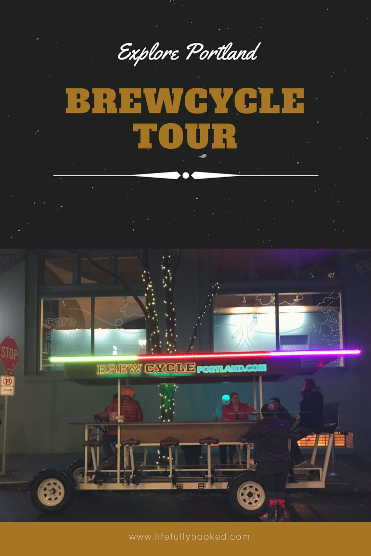 Explore Portland: Brewcycle Old Town Brewery Tour