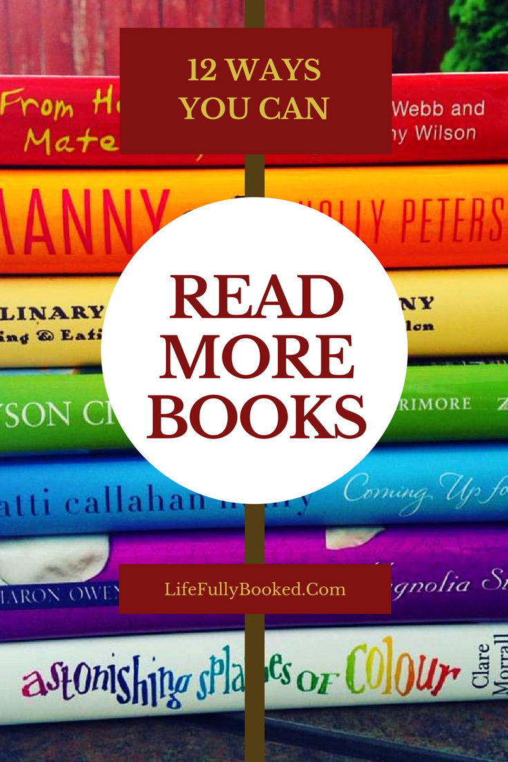 How to Read More Books–Tips to Fit More Reading Into Your Life