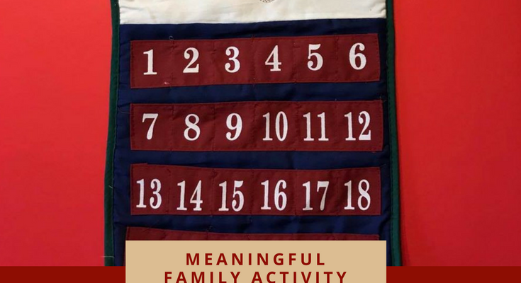 A Creative and Meaningful Family Advent Calendar
