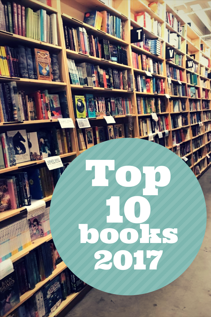 Top 10 Favorite Books from 2017