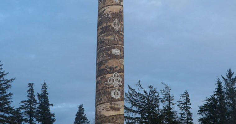 Explore Oregon: Astoria Column and Wet Dog Cafe