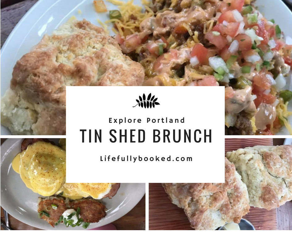 Explore Portland: Tin Shed Restaurant for Brunch