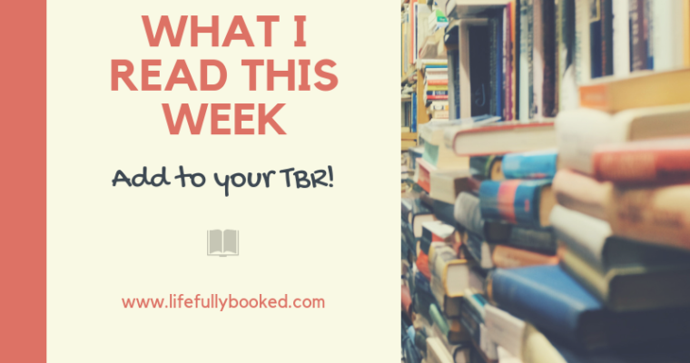 Monday Reading Wrap-Up